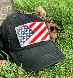 BONÉ USA FLAG BLACK