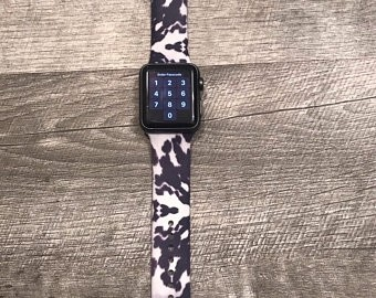PULSEIRA APPLE WATCH SILICONE COW HIDE 38/40