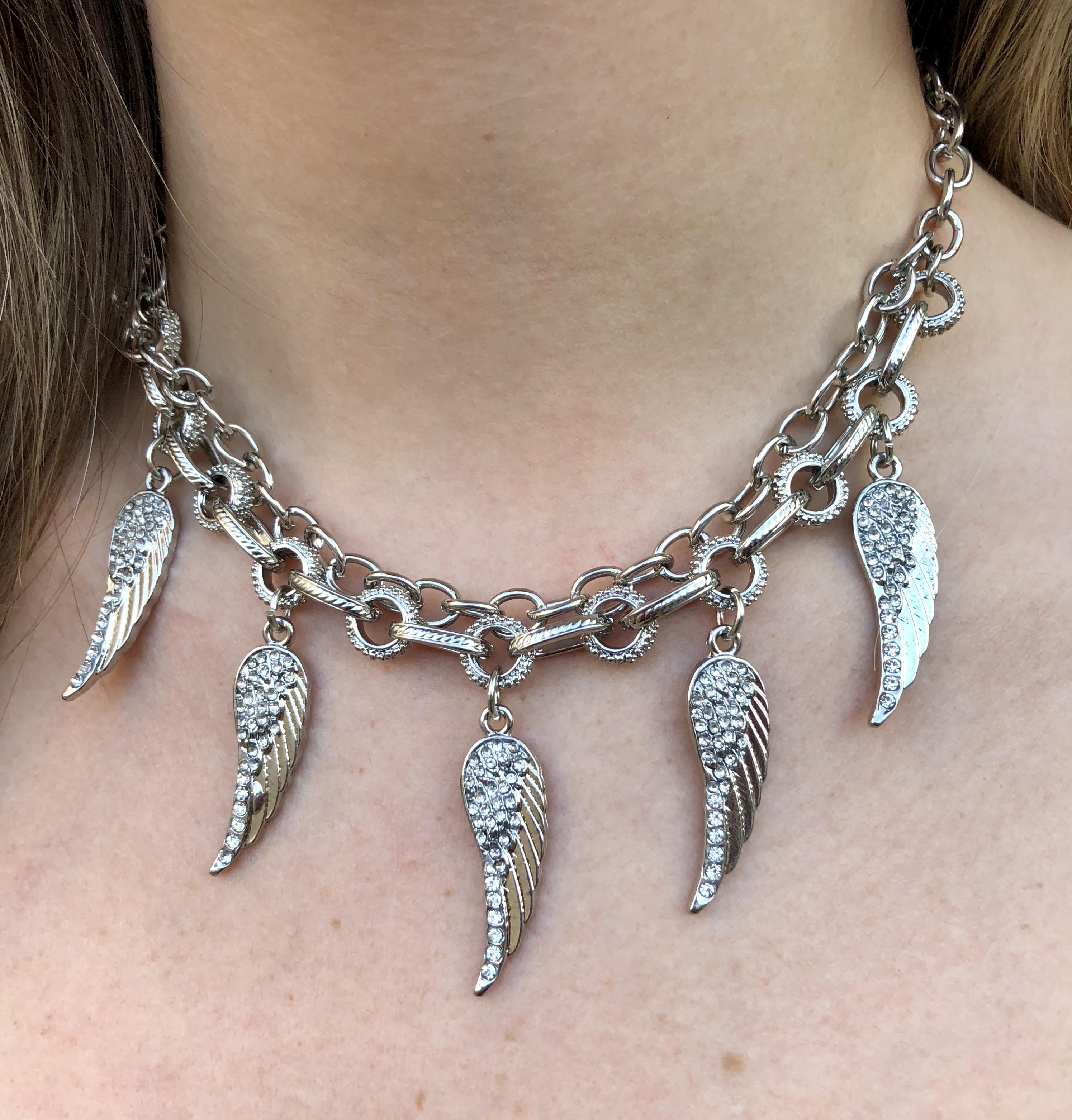 COLAR ANGEL WINGS
